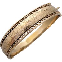 vintage_gold_bangle Beryl Lane - SOLD