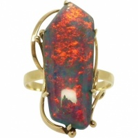 vintage_opal_ring Beryl Lane - SOLD