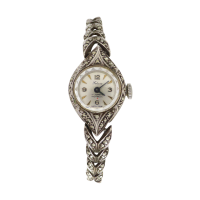 Vintage-Swiss-Felicia-Marcasite-Silver-Manual-Wind-Ladies-Watch-198-6 Beryl Lane - SOLD