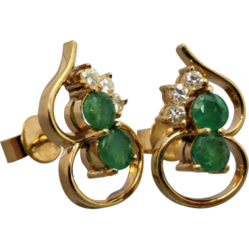 emerald-and-diamond-earrings Beryl Lane - Home