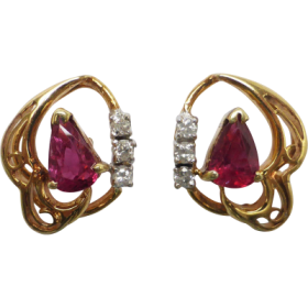 ruby-and-diamond-stud-earrings Beryl Lane - Home