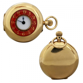 antique-18k-gold-enamel-pocket-watch Beryl Lane - Shop by category