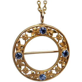 antique-art-nouveau-14k-gold-sapphire-brooch_pendant Beryl Lane - Shop by category