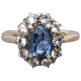 antique-edwardian-unheated-sapphire-cluster-ring Beryl Lane - Shop by category