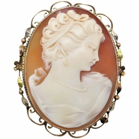 antique-late-edwardian-shell-cameo-brooch Beryl Lane - Shop by category