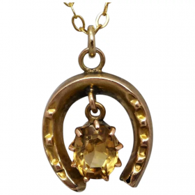 antique-victorian-citrine-horseshoe-charm Beryl Lane - Home