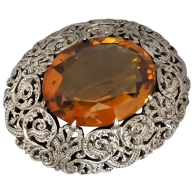 antique-victorian-scottish-citrine-brooch Beryl Lane - Shop by category