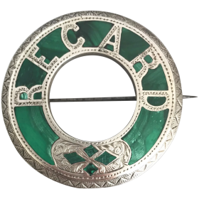 antique-victorian-scottish-sterling-silver-malachite-brooch Beryl Lane - Shop by category