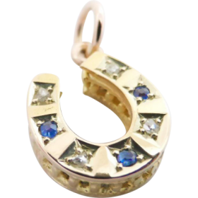 antique_sapphire_diamond_horseshoe_pendant_858603213 Beryl Lane - Shop by category