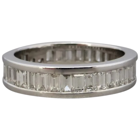channel-set-full-hoop-baguette-cut-diamond-ring Beryl Lane - Shop by category