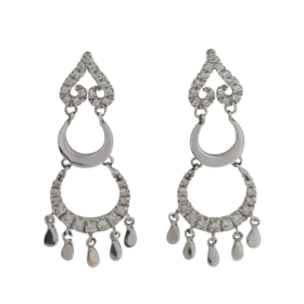 18ct-White-Gold-Italian-Cubic-Zirconia-Chandelier-Earrings-408-1 Beryl Lane - Shop by category