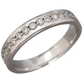 estate-18ct-white-gold-full-hoop-full-diamond-band Beryl Lane - Shop by category