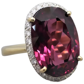 estate-18k-gold-rhodolite_garnet-diamond-ring Beryl Lane - Shop by category