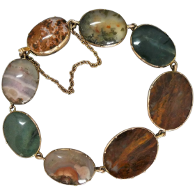 georgian-scottish-agate-gold-bracelet Beryl Lane - Shop by category