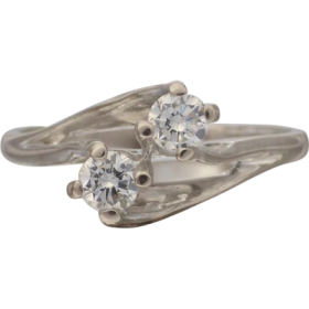 twined_2_stone_diamond_ring Beryl Lane - Shop by category