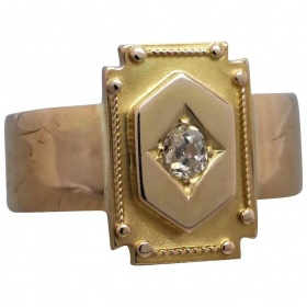victorian-18k-gold-old-cut-diamond-ring Beryl Lane - Home