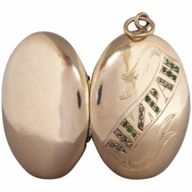 victorian-diamond-mizpah-gold-locket Beryl Lane - Shop by category