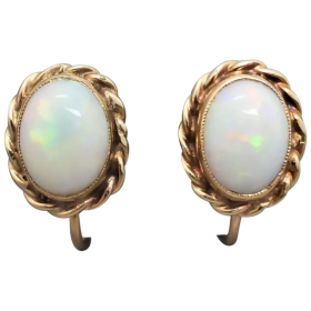 vintage-10k-gold-solid-australian-opal-earrings_2 Beryl Lane - Shop by category