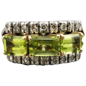 vintage-14k-gold-peridot-and_diamond_ring Beryl Lane - Shop by category