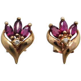 vintage-9k-gold-natural-marquise-ruby-stud_earrings Beryl Lane - Shop by category