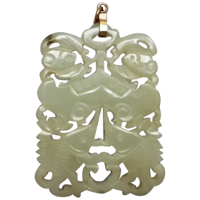 vintage-large-chinese-mutton-fat-nephrite-jade-pendant Beryl Lane - Shop by category