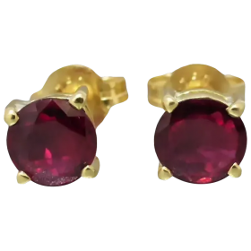 vintage-ruby-stud_earrings Beryl Lane - Shop by category