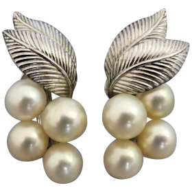 vintage-sterling-silver-mikimoto-akoya-pearl-earrings Beryl Lane - Shop by category