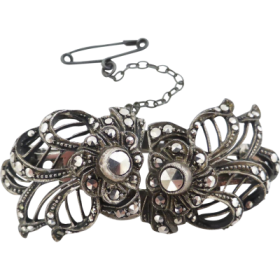 vintage_duet_marcasite_clips Beryl Lane - Shop by category