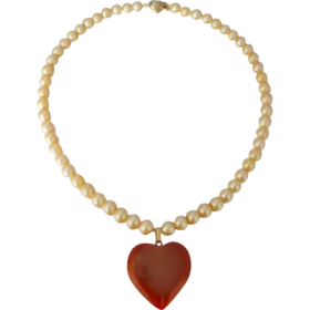 vintage_pearl_strand_carnelian_pendant Beryl Lane - Shop by category