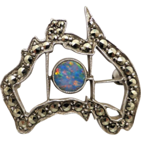 vintage_sterling_silver_opal_and_marcasite_map_of_australia_brooch Beryl Lane - Shop by category