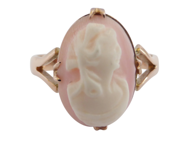 Beryl lane antique 9ct rose gold cameo ring by australian maker antique cameo ring beryl lane antique 9ct rose gold cameo ring by australian aloadofball Gallery