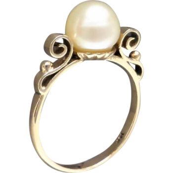 vintage_gold_pearl_ring
