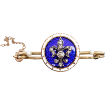 georgian_enamel_diamond_brooch