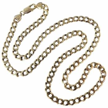 gents-9k-yellow-gold-curb-necklace
