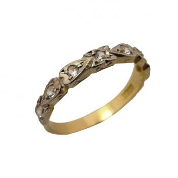 vintage-art-deco-gold-band-ring
