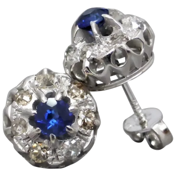 antique-sapphire-and-diamond-stud-earrings