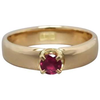 upcycled-18k-gold-natural-ruby-solitaire-ring
