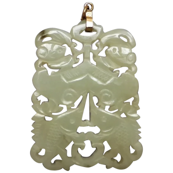 vintage-large-chinese-mutton-fat-nephrite-jade-pendant